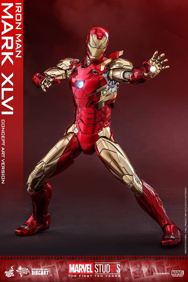 Hot Toys MCU 10th Anniversary Concept Iron Man 4