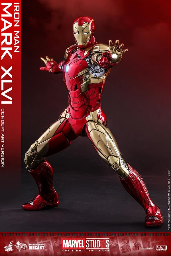 Hot Toys MCU 10th Anniversary Concept Iron Man 5