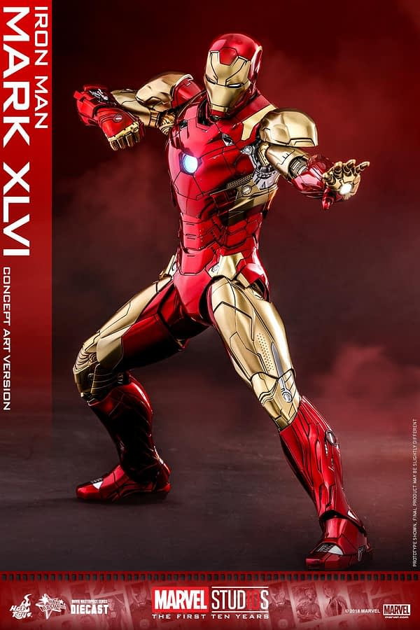 Hot Toys MCU 10th Anniversary Concept Iron Man 6