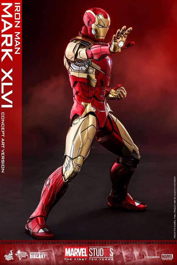 Hot Toys MCU 10th Anniversary Concept Iron Man 7
