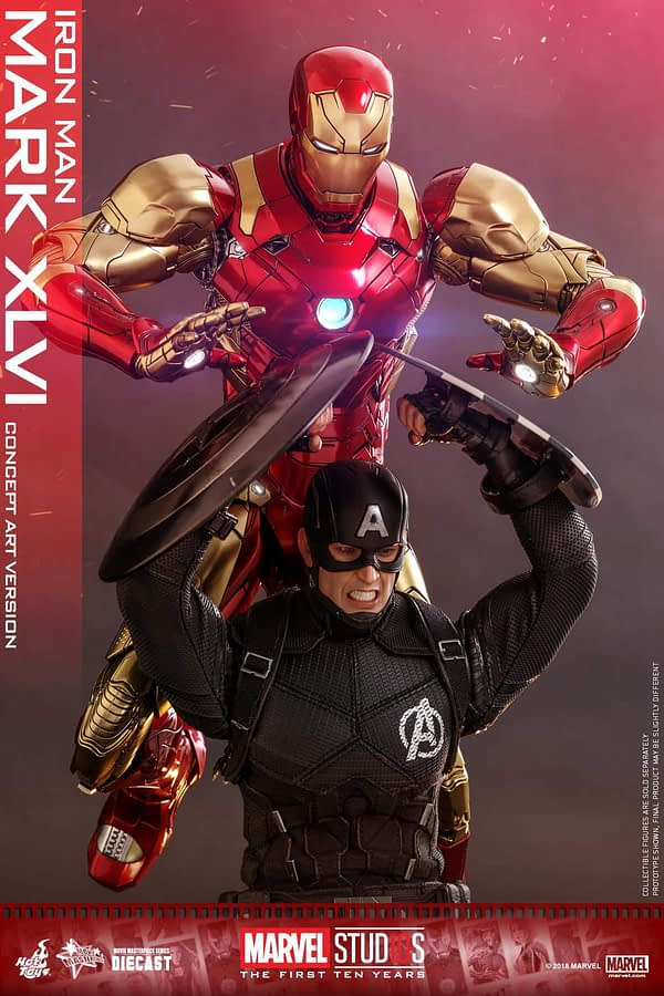Hot Toys MCU 10th Anniversary Concept Iron Man 9
