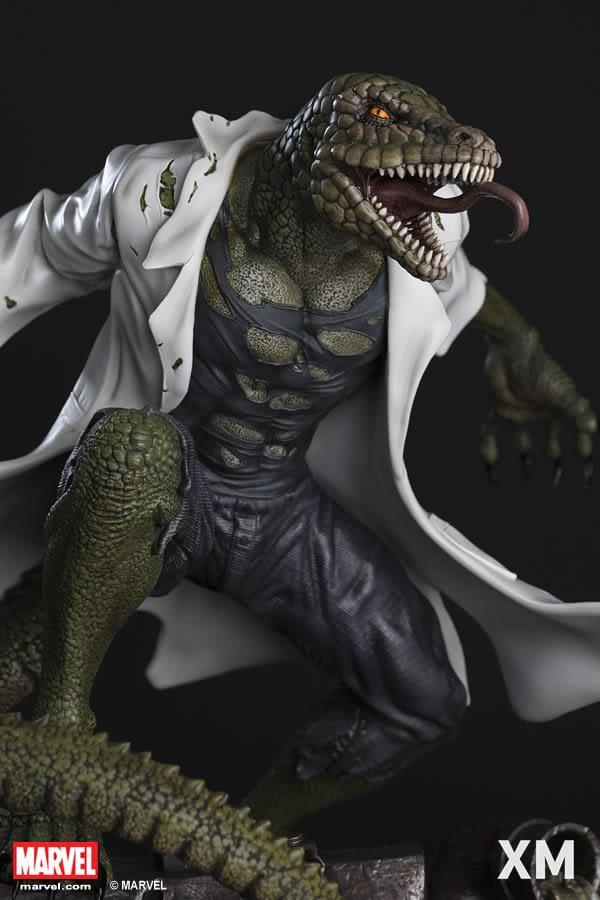 XM Lizard Statue