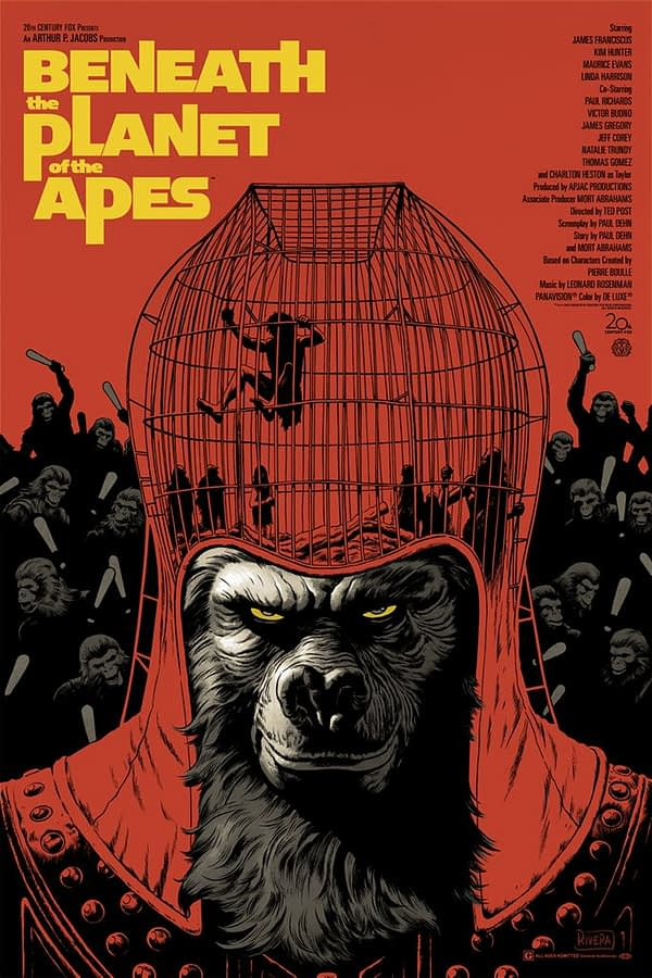 Mondo Beneath the Planet of the Apes Poster 2