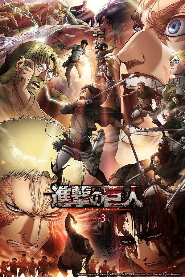 'Attack on Titan' Season 3, Part 2 Debuts Late April on Crunchyroll
