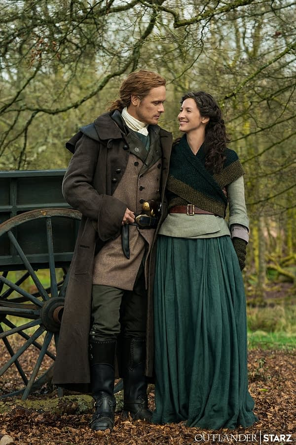 First Image of Jamie and Claire from 'Outlander' Season 5!