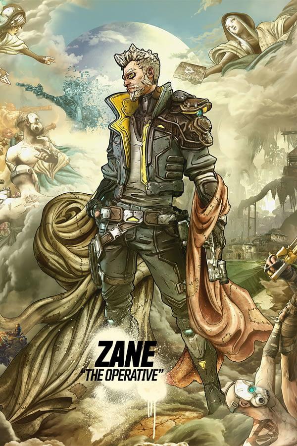 """Borderlands 3"" Gives Zane A Proper Character Trailer"
