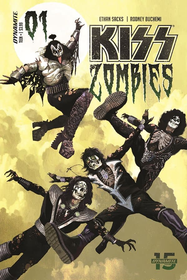 Dynamite Launches KISS Zombies Comic in November