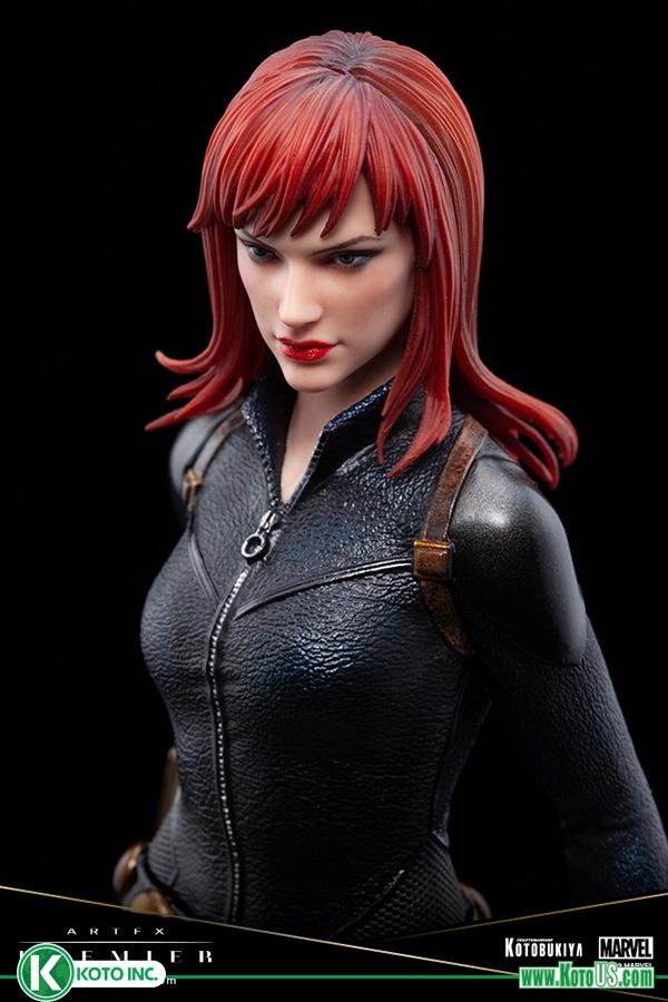 Black Widow's Beauty Shines with Kotobukiya's ArtFx Premier Statue