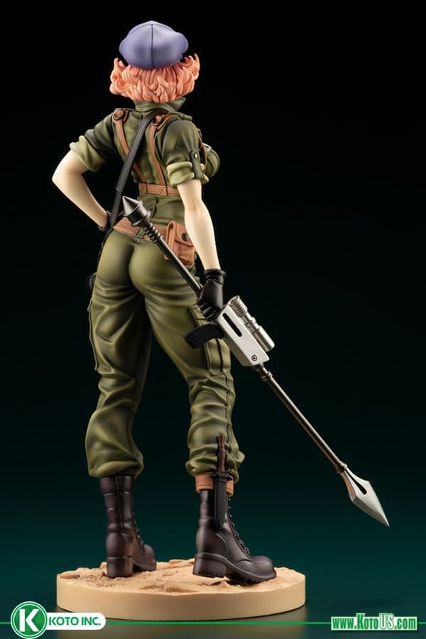G.I. Joe Gets Sexy with New Kotobukiya Bishoujo Statue
