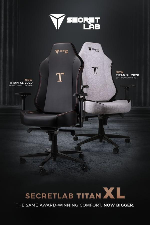 Superb Secretlab Announces Its Latest Gaming Chair The Titan Xl Alphanode Cool Chair Designs And Ideas Alphanodeonline