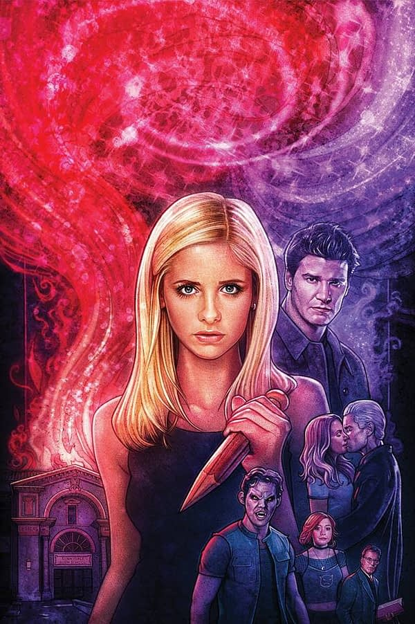 Hellmouth #1 Foil Cover Increases 300% at FOC – Enough to Satisfy Buffy Fans Like Donny Cates?