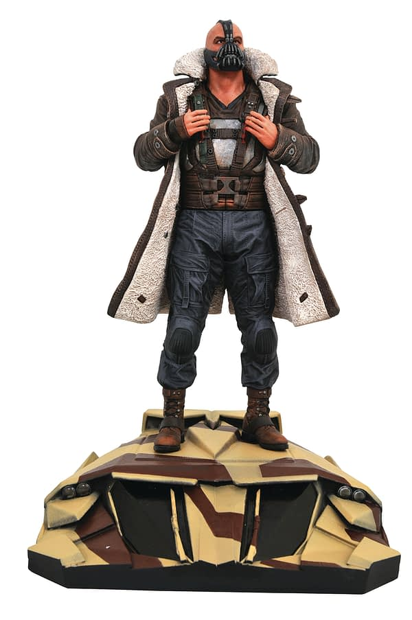 Dark Knight Rises Bane Gallery Statue Diamond Select Toys