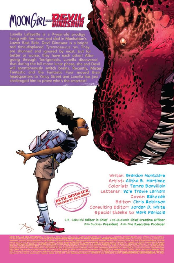 Moon Girl and Devil Dinosaur #47 [Preview]
