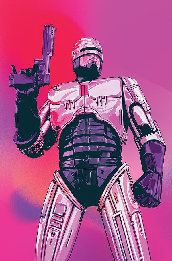 Robocop: Citizen's Arrest #1 cover by Nimit Malavia