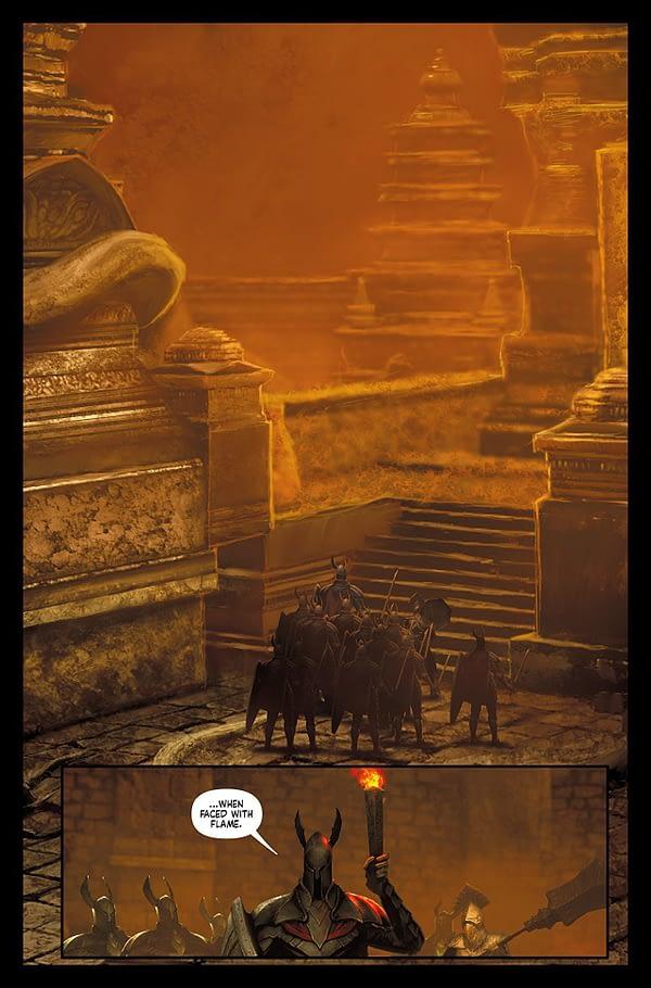 Dark Souls: Age of Fire #2 art by Anton Kokarev