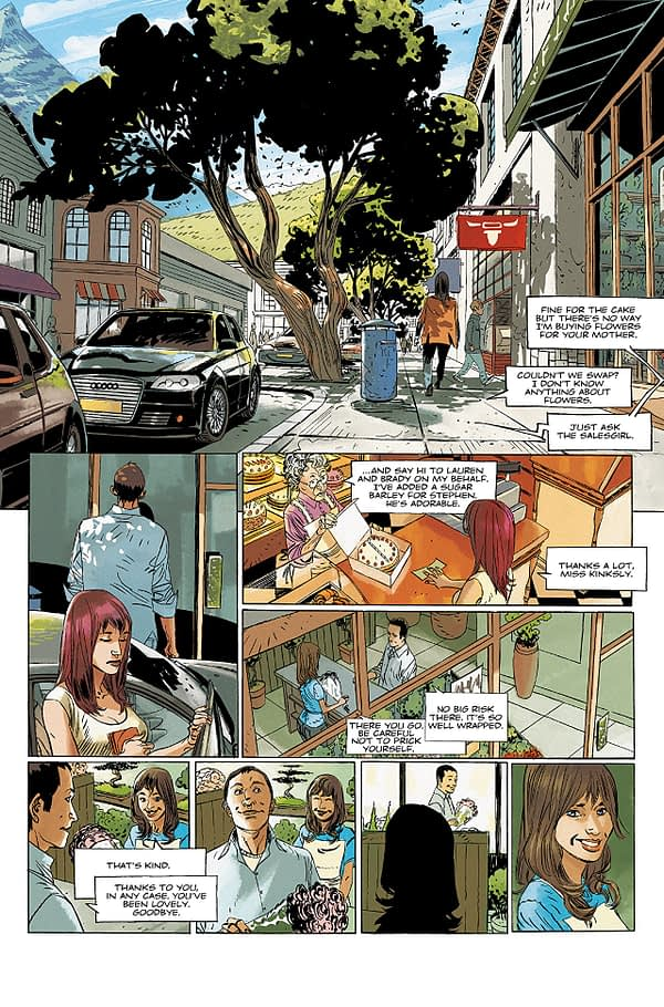 Dead Life #1 art by Urgell and Folny