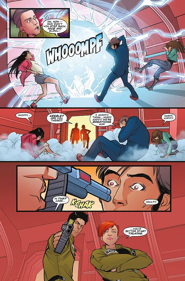 Doctor Who: The Road to the Thirteenth Doctor- The Tenth Doctor #1 art by Iolanda Zanfardino and Dijjo Lima