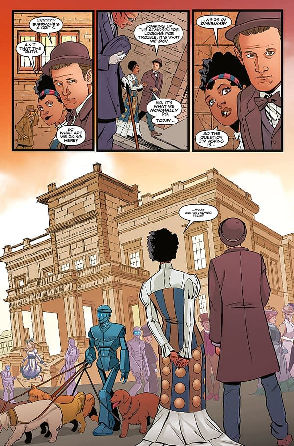 Doctor Who: The Road to the Thirteenth Doctor- The Eleventh Doctor #1 art by Pasquale Qualano and Dijjo Lima
