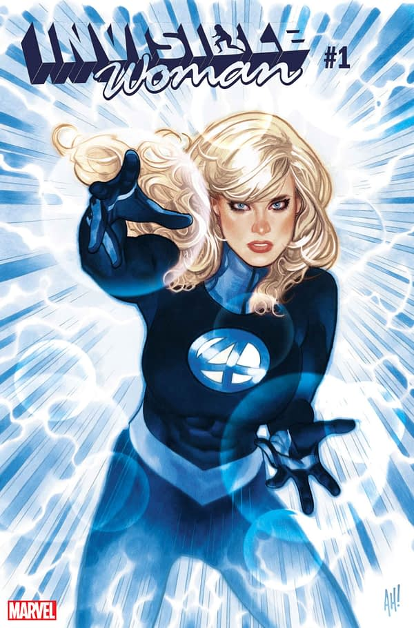 Marvel's Invisible Woman Gets Her Own Series in July