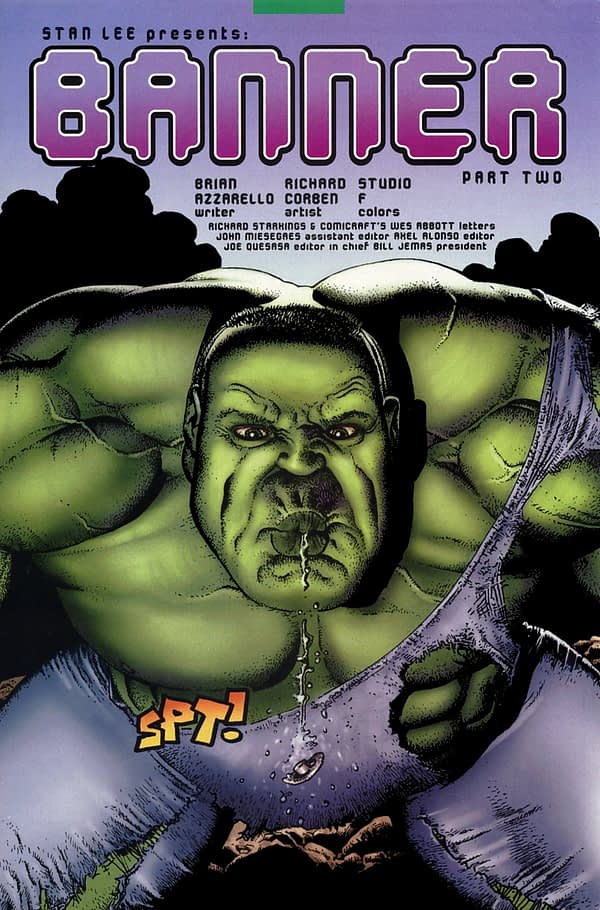 Incredible Hulk: Last Call's Movie Reference Suicide Page Pulled by Marvel From Print Edition