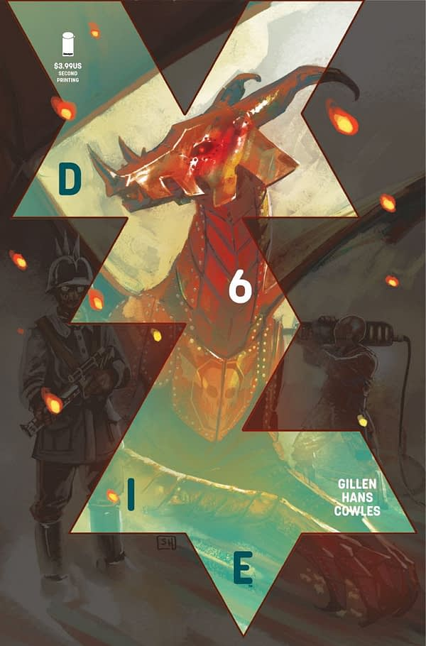 Now Kieron Gillen and Stephanir Hans' Die #6 Sells Out and Goes to Second Printing a Week Before Going On-Sale