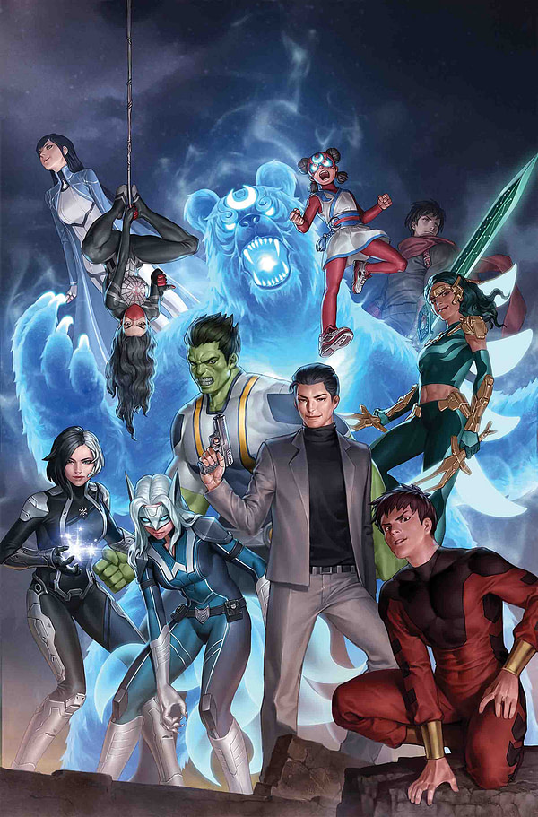 Marvel Ch-Ch-Ch-Changes - Nico Leon and Carlo Pagulayan Replace Gang Hyuk Lim on Agents Of Atlas #1
