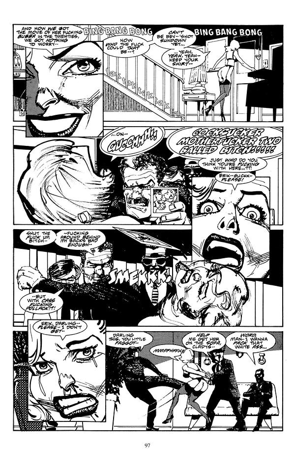 Black Kiss Art by Howard Chaykin