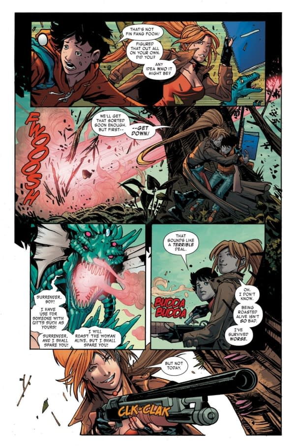 Monsters Unleashed #7 art by Andrea Broccardo and Chris Sotomayor