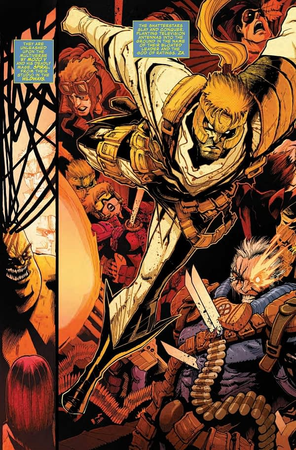 Killing Cable Again in Next Week's Shatterstar #5