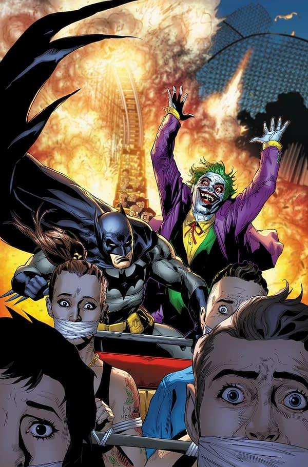 The Return of the Joker to Detective Comics for Year of the Villain in July