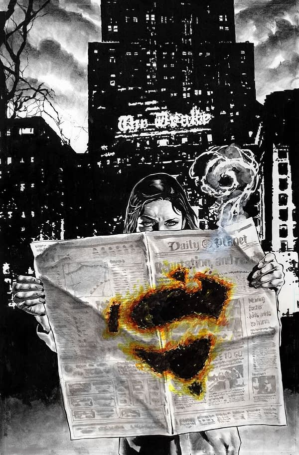 Lois Lane Busts Fake News in First Look at Greg Rucka and Mike Perkins' New Series