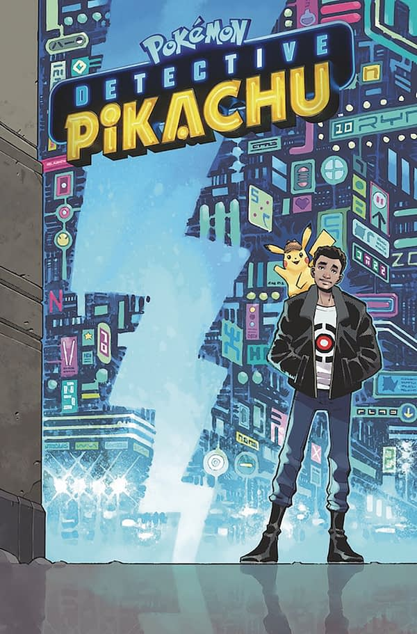 Brian Buccellato and Nelson Daniel Adapt Detective Picachu as a Comic