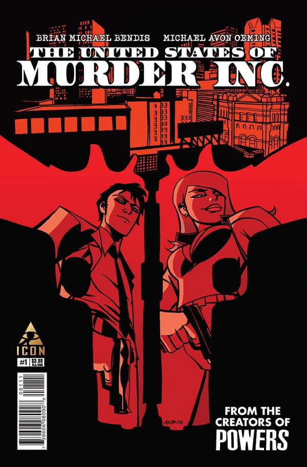 """Brian Bendis and Michael Oeming Sell TV Rights For """"The United States Of Murder, Inc"""""""