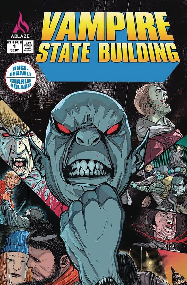 Charlei Adlard's Vampire State Building Kicks Off New Publisher Ablaze - With 9 Page Preview