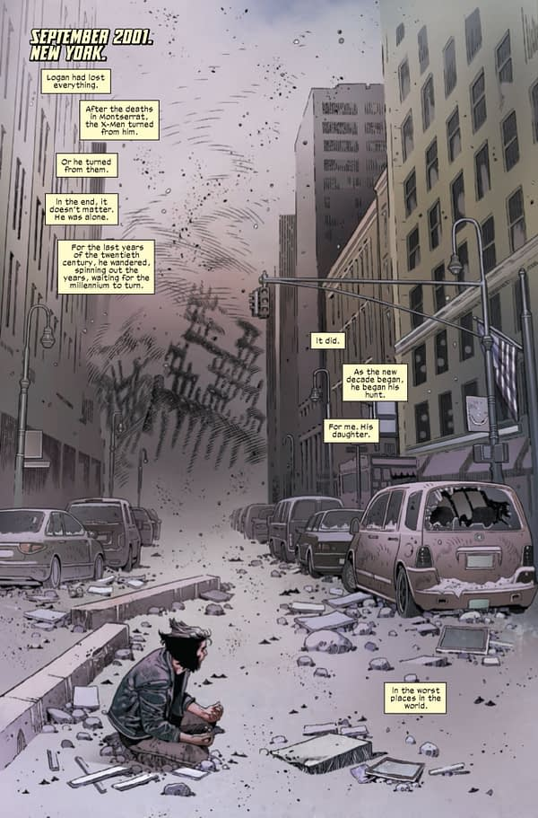 Wolverine's Vigil Comes to 9/11 in Marvel Comics Presents #7 [Preview]
