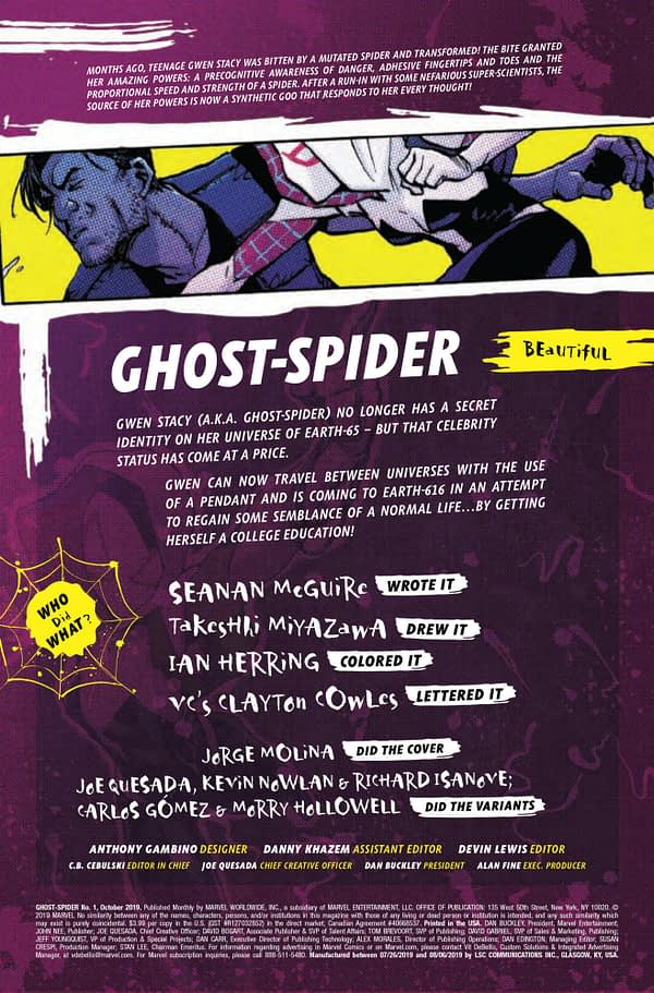 Ghost Spider #1 [Preview]