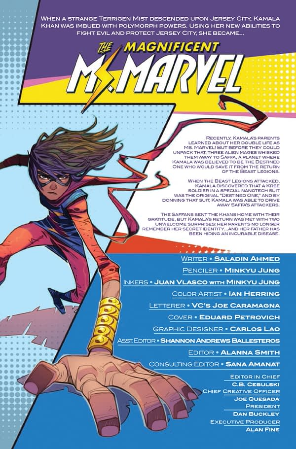 Magnificent Ms. Marvel #6 [Preview]