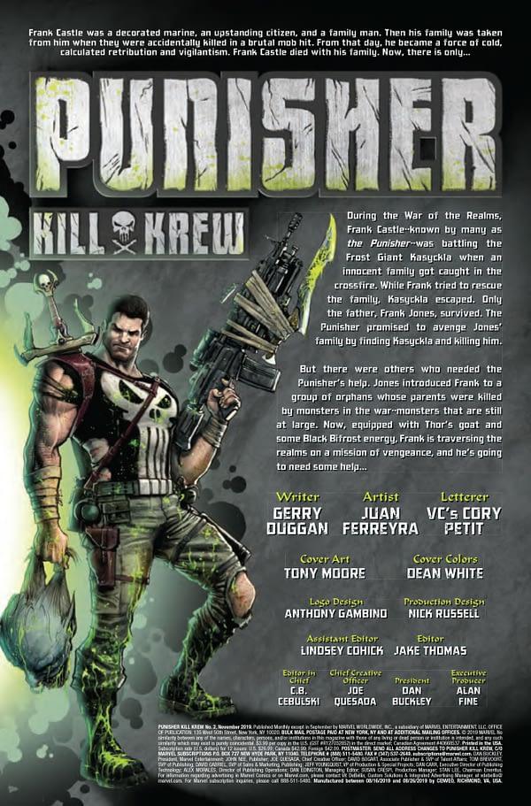Punisher Kill Krew #2 [Preview]