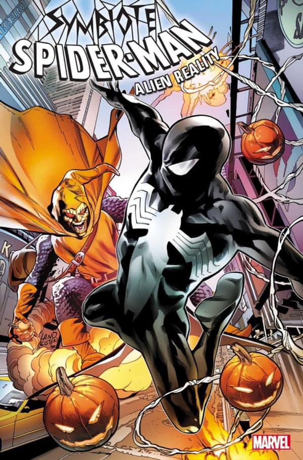 Peter David and Greg Land's Symbiote Spider-Man Returns in December for Alien Reality