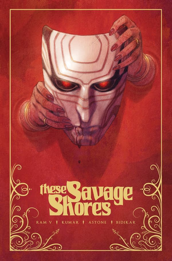 Fancy Pants Vault Comics to Print Gold Ink These Savage Shores Covers for Local Comic Shop Day