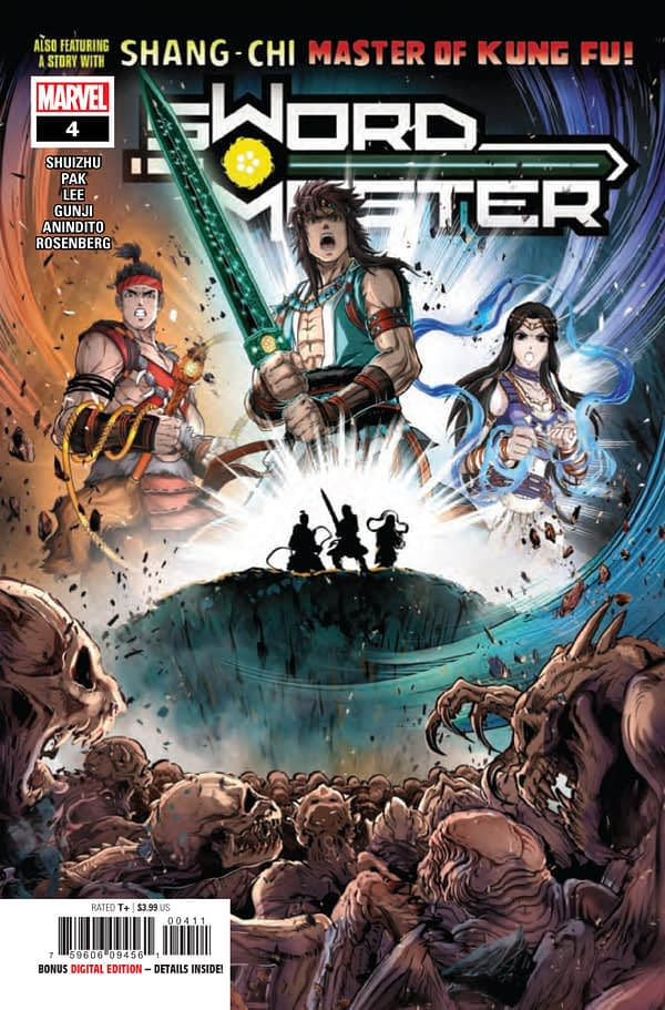 Sword Master #4 [Preview]