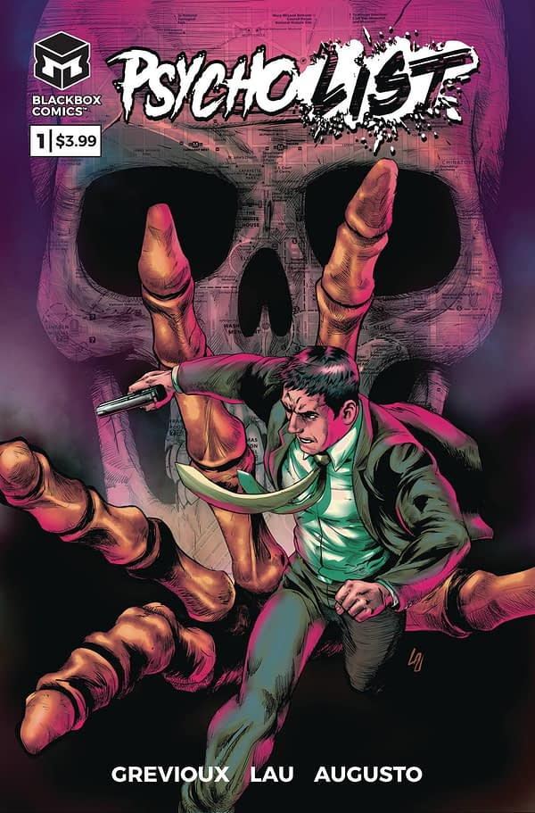 Kevin Grevioux and Jonathan Lau's Psycho List #1 Gets a Second Printing