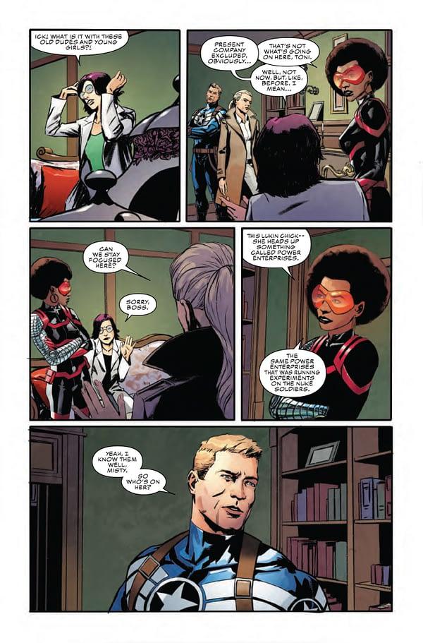 Captain America #15 [Preview]