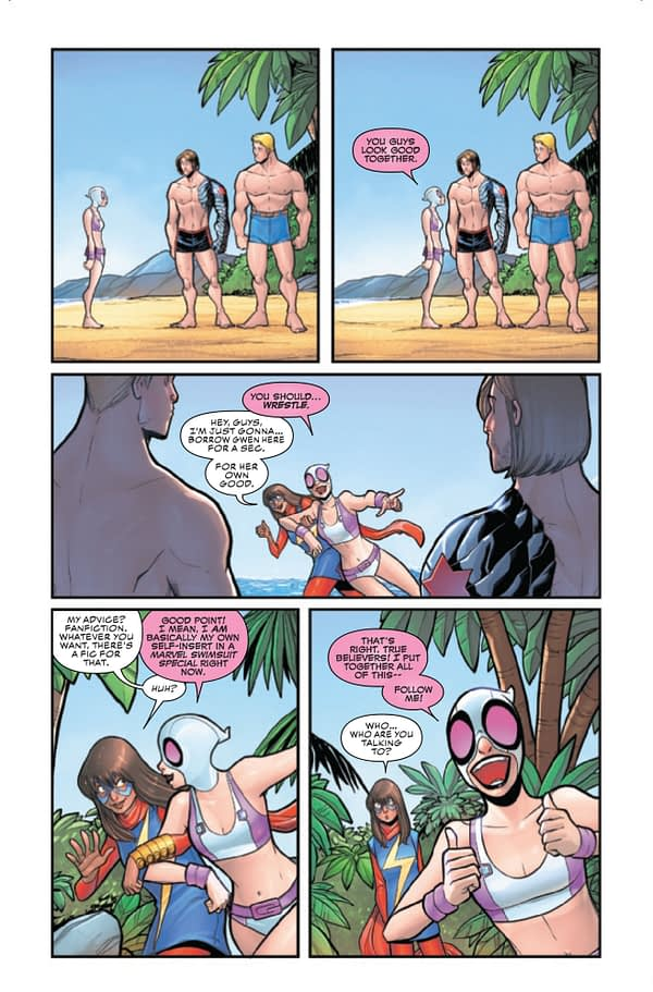 Gwenpool Strikes Back #3 [Preview]