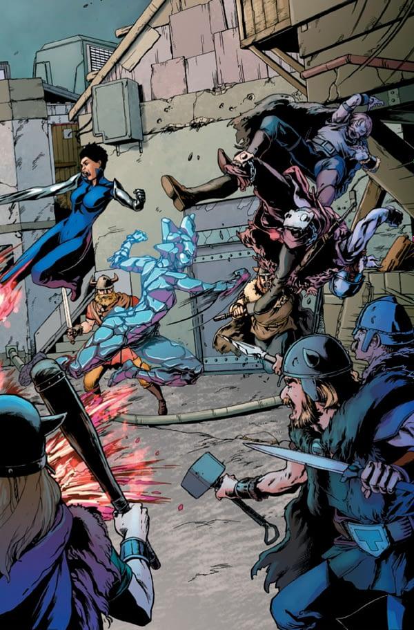Fantastic Four 2099 #1