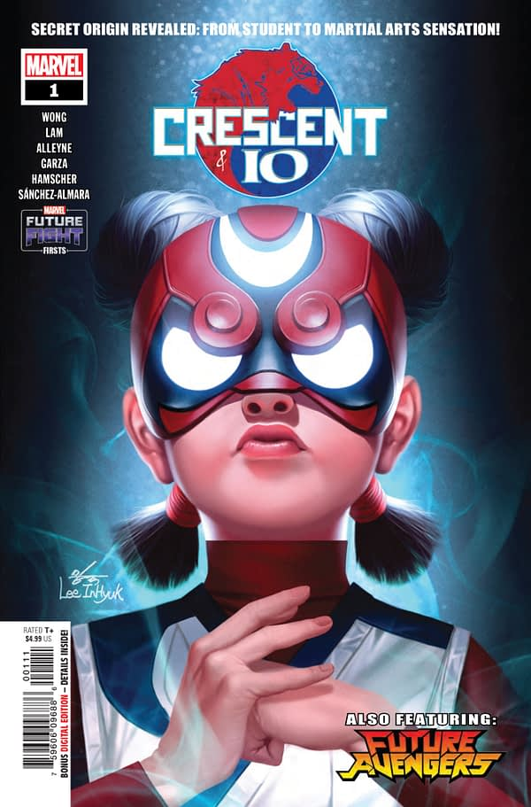 Future Fight Firsts: Crescent and Io #1 [Preview]