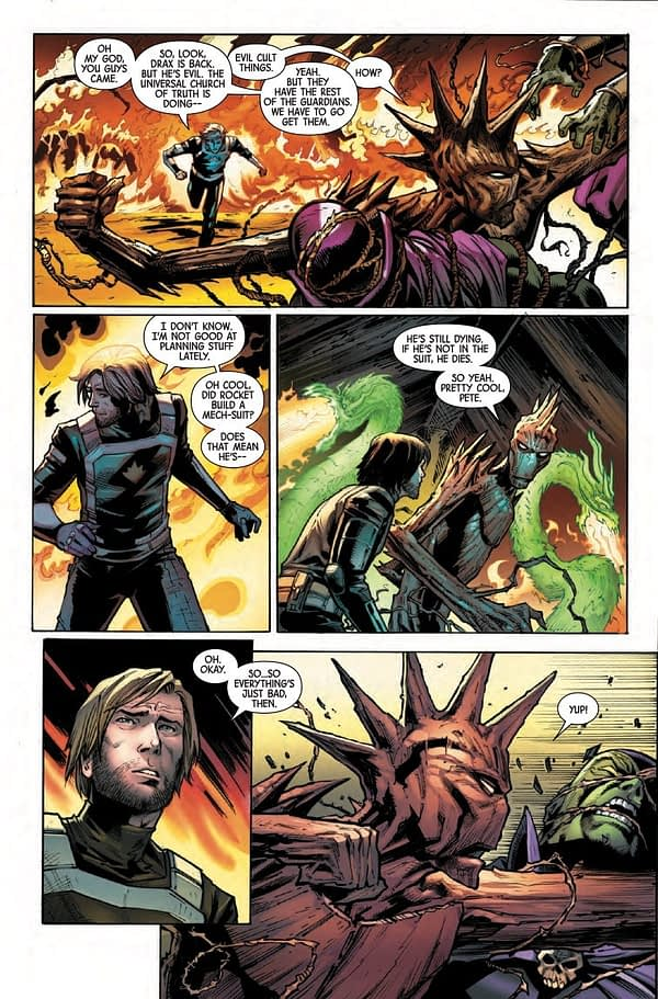 Guardians of the Galaxy #11 [Preview]
