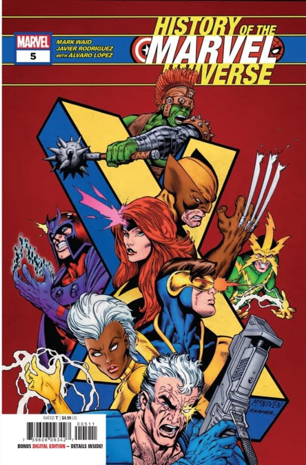 History of the Marvel Universe #5 Enters the Bendis Years