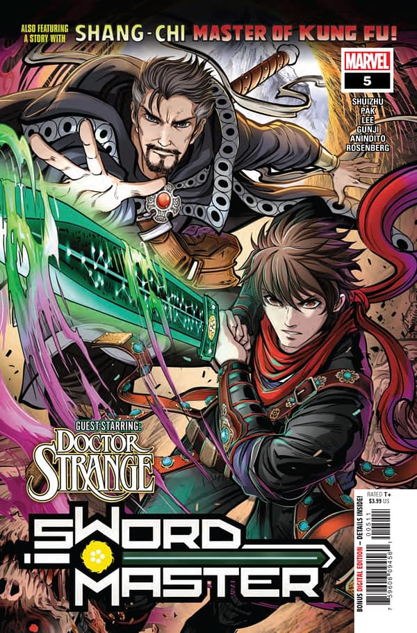 Sword Master #5 [Preview]