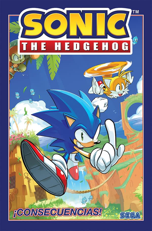 George Takei, Sonic the Hedgehog Kick of IDW's New Spanish-Language Graphic Novel Program